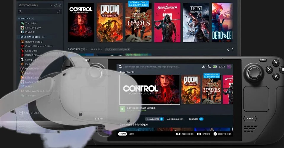 Gabe Newell Konfirmasi Steam Deck Seharusnya Compatible Dengan Oculus Quest
